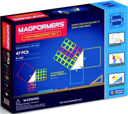 Магнитный конструктор Magformers Пифагор 47 элементов 63113/711003 магнитный конструктор magformers space treveller set 35 элементов 703007
