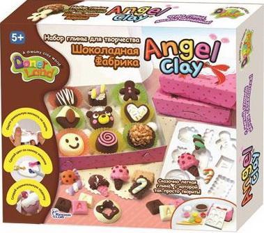 Масса для лепки Angel Clay Шоколадная мастерская AA13081