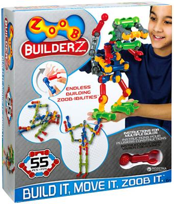 Конструктор ZOOB BuilderZ 55 элементов