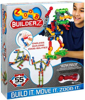цена на Конструктор ZOOB BuilderZ 55 элементов OZ11055TL