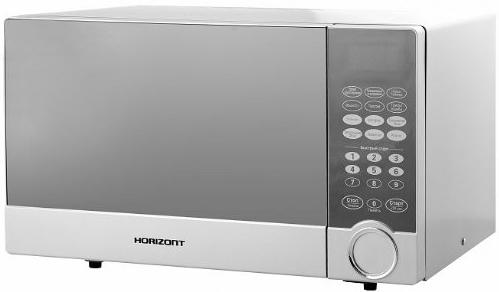 цена на СВЧ Horizont 23MW800-1479CBS 800 Вт серебристый