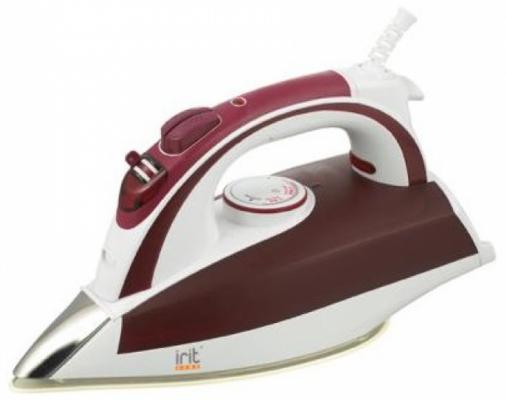 цена на Утюг Irit IRIT IR-2214 2200Вт розовый белый
