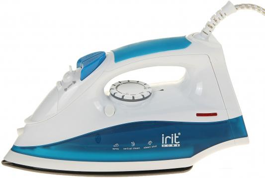 Утюг Irit IR-2222 2000Вт белый голубой