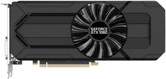 Видеокарта 6144Mb Palit GeForce PA-GTX1060 STORMX 6G PCI-E 192bit GDDR5 DVI HDMI DP HDCP NE51060015J9-1061F Retail видеокарта 6144 mb asus geforce gtx1060 pci e 192bit gddr5 dvi hdmi displayport strix gtx1060 6g gaming retail