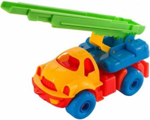 Пожарная машина Нордпласт Малыш 62 разноцветный 18.5 см ассортимент цена
