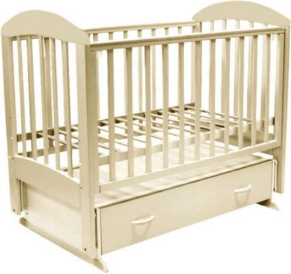 Кроватка с маятником Топотушки Дарина-6 (арт. 03/слоновая кость) кроватка с маятником sweet baby eligio avorio слоновая кость