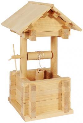 Конструктор Пелси Колодец 63 элемента К614 пелси пелси деревянный конструктор избушка теремок с куклой и росписью 94 детали