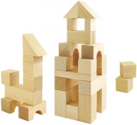 Деревянный конструктор Пелси строительный набор №1 24 элемента К626