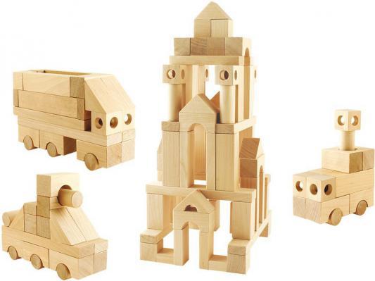 Конструктор Пелси №3, 90 элементов И628 пелси пелси деревянный конструктор избушка теремок с куклой и росписью 94 детали