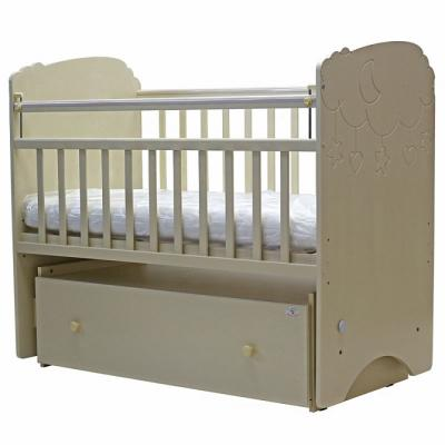 Кроватка с маятником Топотушки Софья (арт. 27/слоновая кость) кроватка с маятником sweet baby eligio avorio слоновая кость