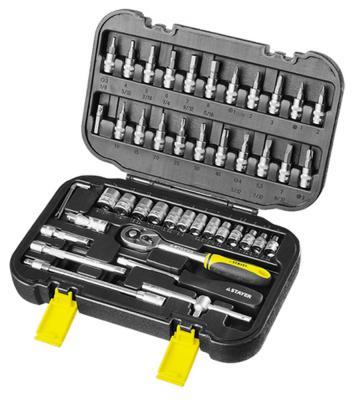 Набор инструментов Stayer MASTER 46шт 27760-H46 набор инструментов 1 2 46шт hans 4646ma