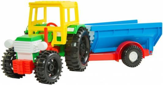 Трактор Тигрес с прицепом 36 см 39215