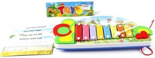 Ксилофон Shantou Gepai Лето, нотные карточки 3067