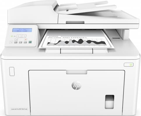 МФУ HP LaserJet Pro M227sdn G3Q74A ч/б A4 28ppm 600x600dpi Ethernet USB