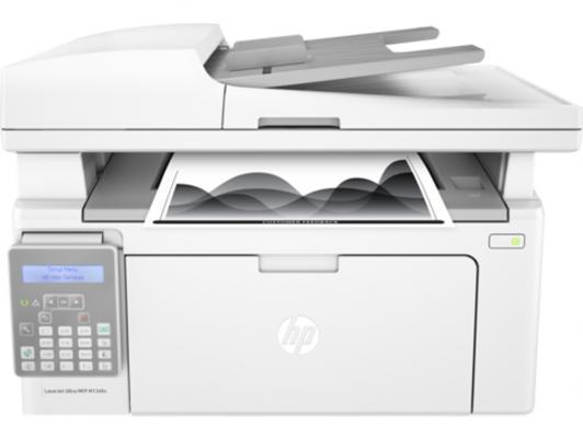 Принтер HP LaserJet Ultra MFP M134fn G3Q67A ч/б A4 22ppm 600x600dpi USB