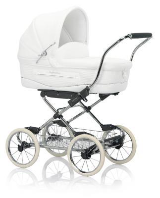 Коляска для новорожденного Inglesina Vittoria на шасси Ergobike/Slate (AB10E6GAR + AE15E6100)