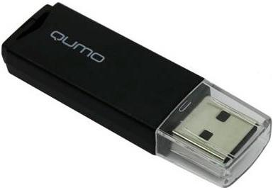 Флешка USB 4Gb QUMO Tropic USB2.0 черный QM4GUD-TRP-Black