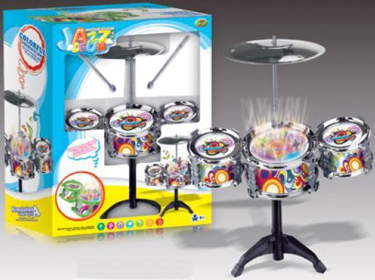 Барабанная установка Shantou Gepai Jazz Drum (свет) 586-208