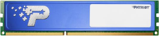 Оперативная память 4Gb PC4-17000 2133MHz DDR4 DIMM Patriot PSD44G213381H пила patriot es 2016 220301510