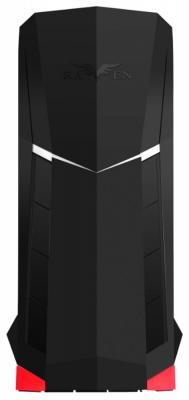 Корпус ATX SilverStone Raven SST-RVX01 Без БП чёрный красный корпус atx silverstone precision ps11b q без бп чёрный