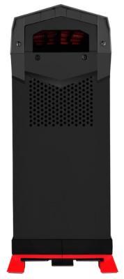 Корпус ATX SilverStone Raven SST-RVX01 Без БП чёрный красный