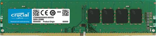 Оперативная память 8Gb (1x8Gb) PC4-19200 2400MHz DDR4 DIMM CL17 Crucial CT8G4DFS824A