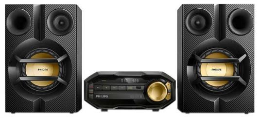 Минисистема Philips FX10/12 115Вт черный philips fx10 12 мини hi fi система