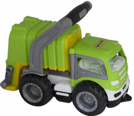 Автомобиль Полесье коммунальный зеленый 26.5 см