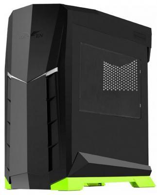 Корпус microATX SilverStone Raven SST-RVX01BV-W Без БП чёрный зелёный все цены