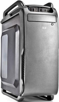 Корпус ATX 3Cott 3C-ATX666GR 800 Вт серый
