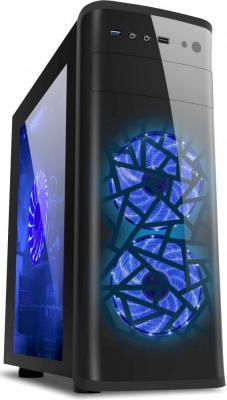 Корпус ATX 3Cott 3C-ATX901GBL 800 Вт синий