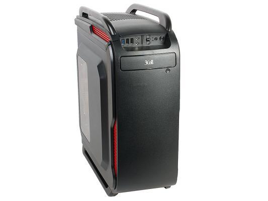 Корпус ATX 3Cott 3C-ATX666GB 800 Вт чёрный