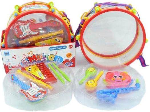Набор музыкальных инструментов Shantou Gepai 8 предметов 826-08B