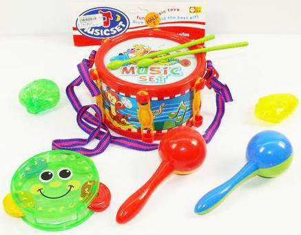 Набор музыкальных инструментов Shantou Gepai Music, 6 предметов 2014-4