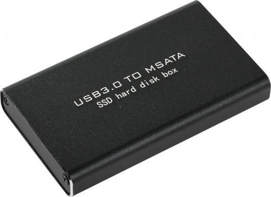 Салазки для жесткого диска (mobile rack) для SSD mSATA Orient 3501 U3 USB3.0 черный шасси orient uhd 2msc12 для ssd msata для установки в sata отсек оптического привода ноутбука 12 7 мм 30345