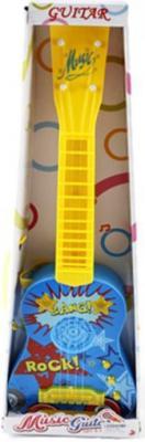 Гитара Shantou Gepai Рок 58см, 4 струны, свет, звук 738