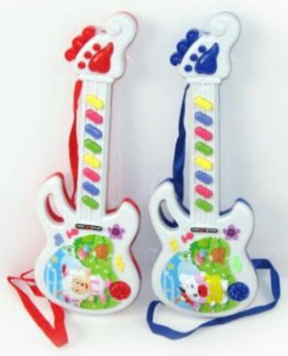 Гитара эл. Shantou Gepai веселая овечка. Элементы питания в комплект не входят 318-5 гитара shantou gepai 856 5