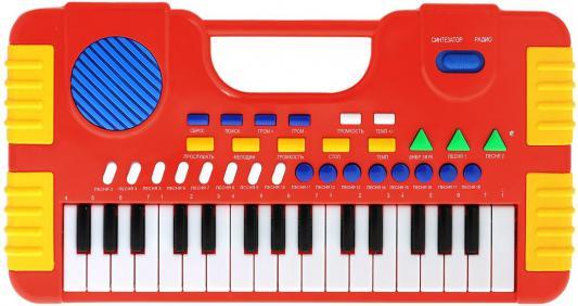 Купить Синтезатор Shantou Gepai Я звезда, 32 клавиши SD984-A, красный, Детские музыкальные инструменты