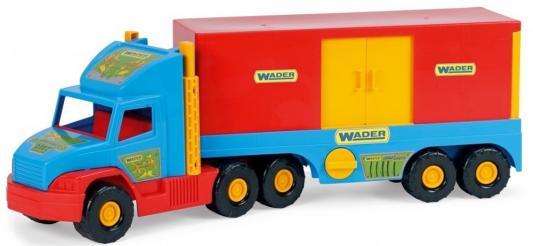 Машина Wader Фургон 78 см разноцветный ассортимент 36510 бетономешалка wader super truck разноцветный 58 5 см 36590