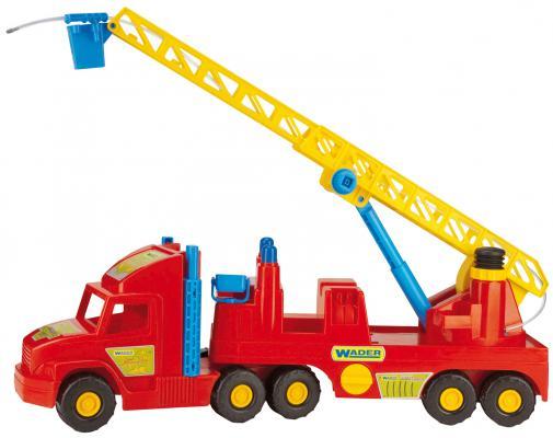 Машина Wader Пожарная машина 78 см красный 36570 машина нордпласт фургон спецтехника 39 см красный 204