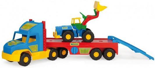 Машина Wader Super Truck 78 см разноцветный ассортимент 36520 машины wader автомобиль констрак полиция