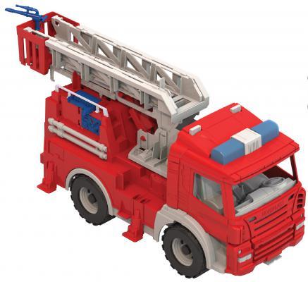 Пожарная машина Нордпласт Спецтехника красный 50 см 203 машины нордпласт мусоровоз спецтехника