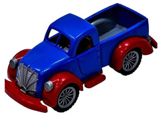 Машина Русский Стиль Ретро Пикап синий 35 см