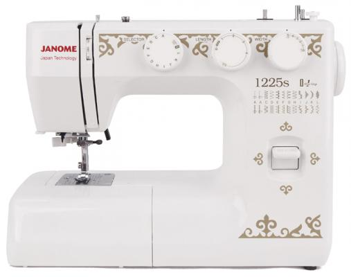 Швейная машина Janome 1225s белый