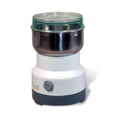Кофемолка Irit IR-5016 120 Вт белый кофемолка irit ir 5303 100 вт оранжевый