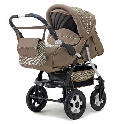 Коляска прогулочная Teddy BartPlast Diana 2016 PKLO (RO02/бежевый) коляска прогулочная teddy bartplast diana 2016 pklo dd16 серый