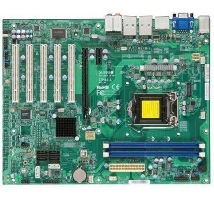 Мат. плата для ПК Supermicro MBD-C7H61-L-O Socket 1155 H61 2xDDR3 1xPCI-E 16x 5xPCI 1xPCI-E 1x 4xSATA II 2xSATAIII ATX