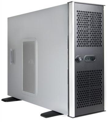 Серверный корпус E-ATX Chenbro RM41300-FS81 Без БП серебристый