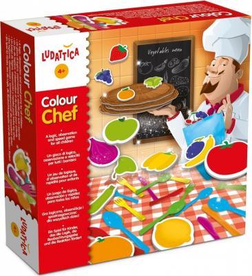 Настольная игра Ludattica развивающая Цветной шеф 47147