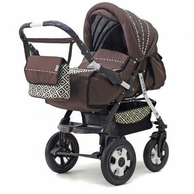 Коляска прогулочная Teddy BartPlast Diana 2016 PKLO (RO04/коричневый) коляска прогулочная teddy bartplast diana 2016 pklo dd16 серый